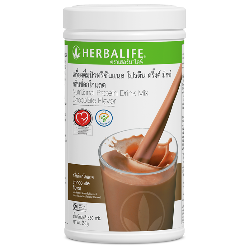 0119 Nutritional Protein Drink Mix Chocolate Flavor