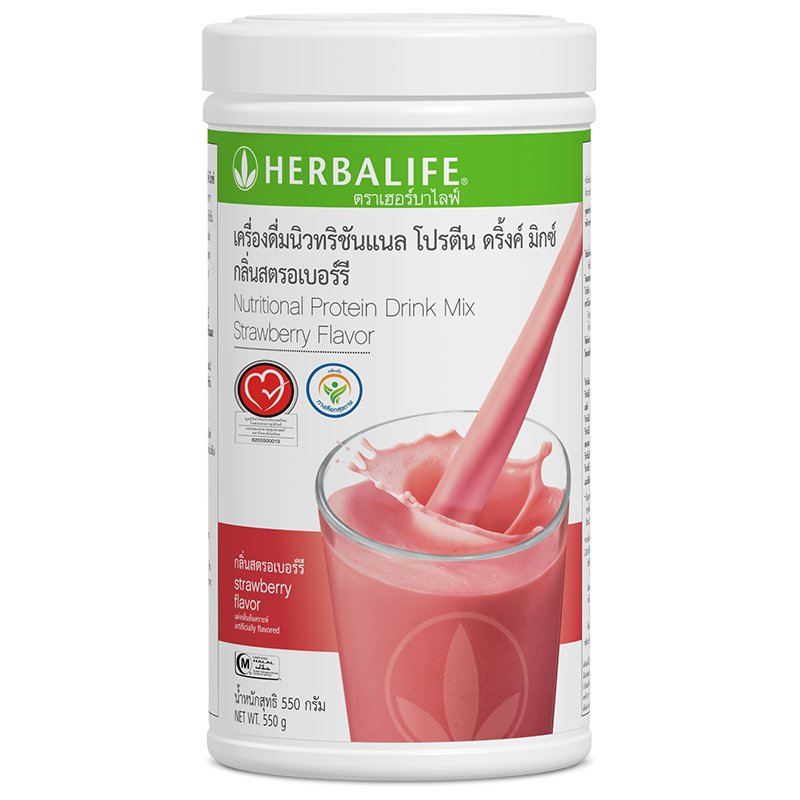 0120 Nutritional Protein Drink Mix Strawberry Flavor