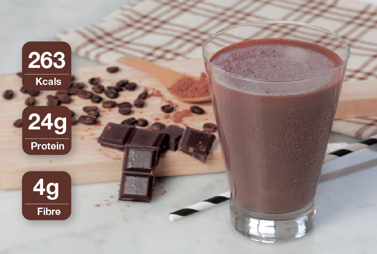 Healthy Recipe: Choco Mocha Shake