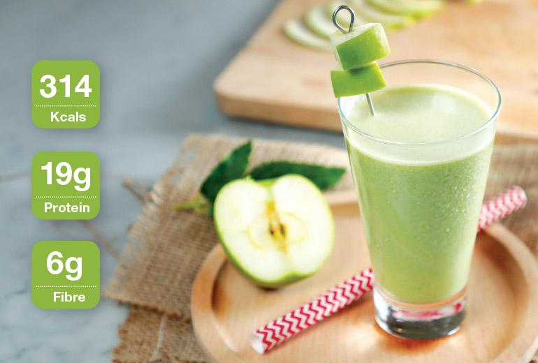 Healthy Recipe: Apple Aloha Shake